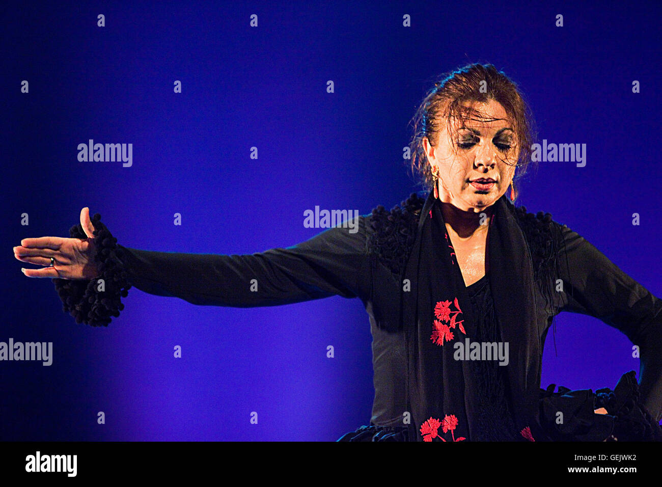 `Juana Amaya´,Juana García Gómez,Teatre Coliseum, Barcelona,Cataluña,Spain - Stock Image