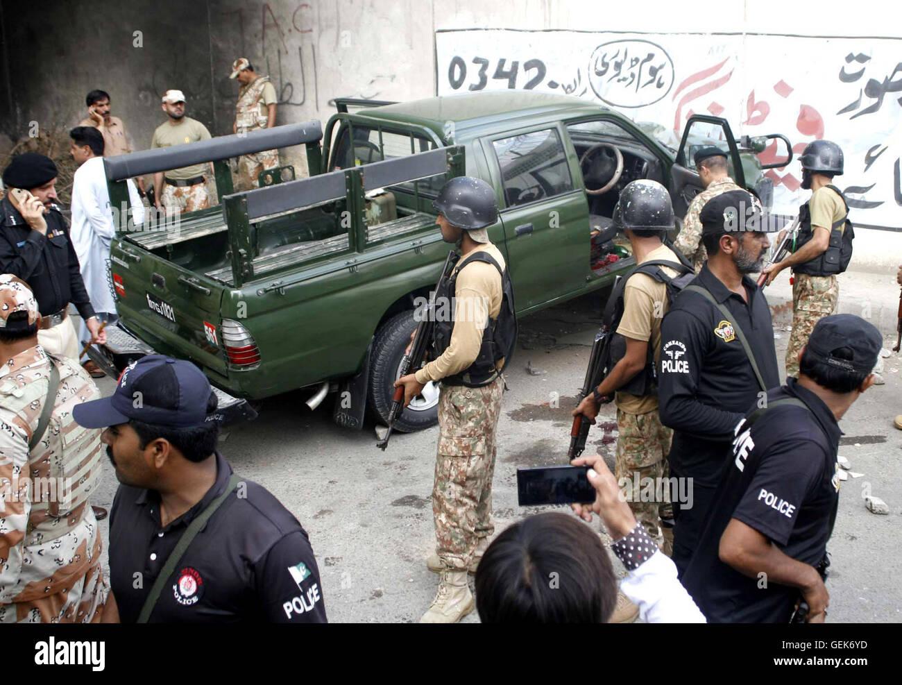 In Karachi On Tuesday Stock Photos & In Karachi On Tuesday Stock