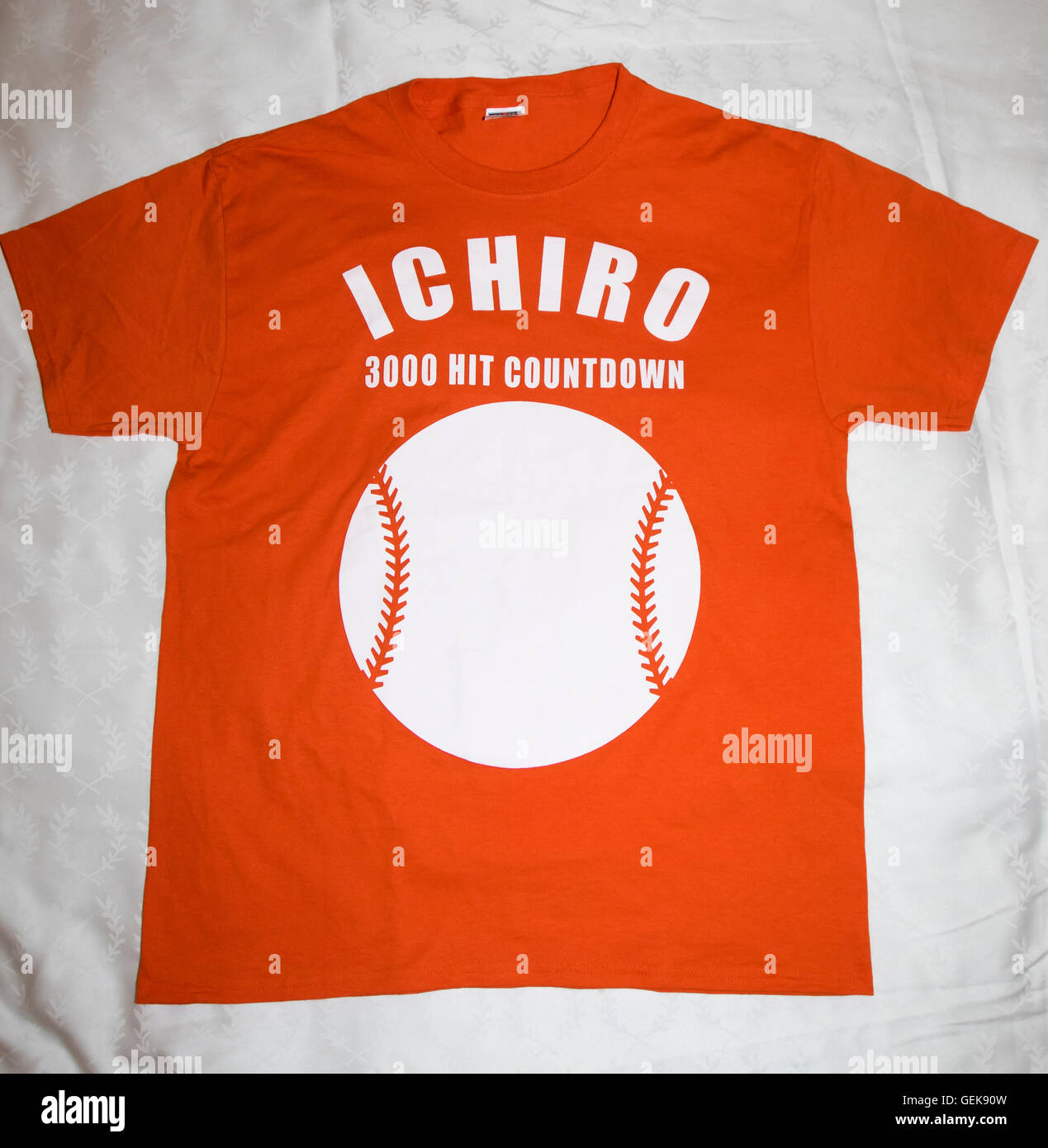 Miami, Florida, USA. 25th July, 2016. Ichirio T-shirt MLB