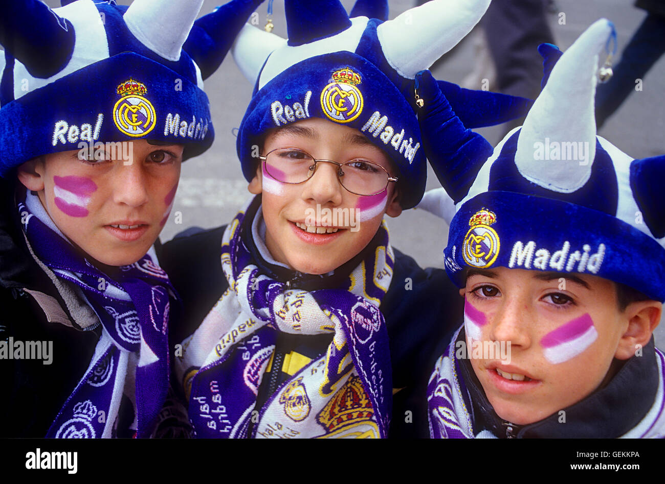 23ee68b74 Real Madrid Fans Stock Photos & Real Madrid Fans Stock Images - Alamy
