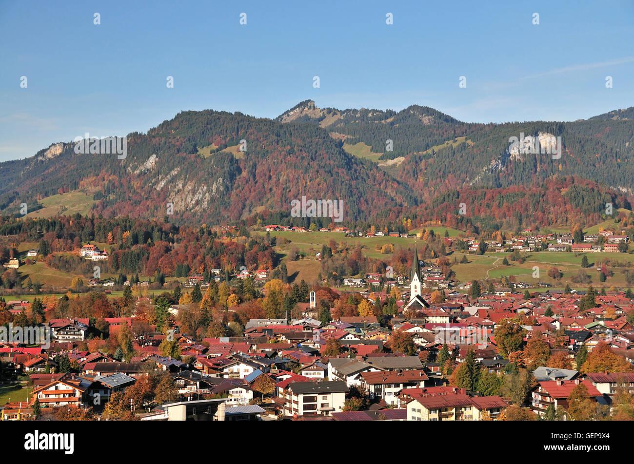 Oberstdorf, Bavaria - Stock Image