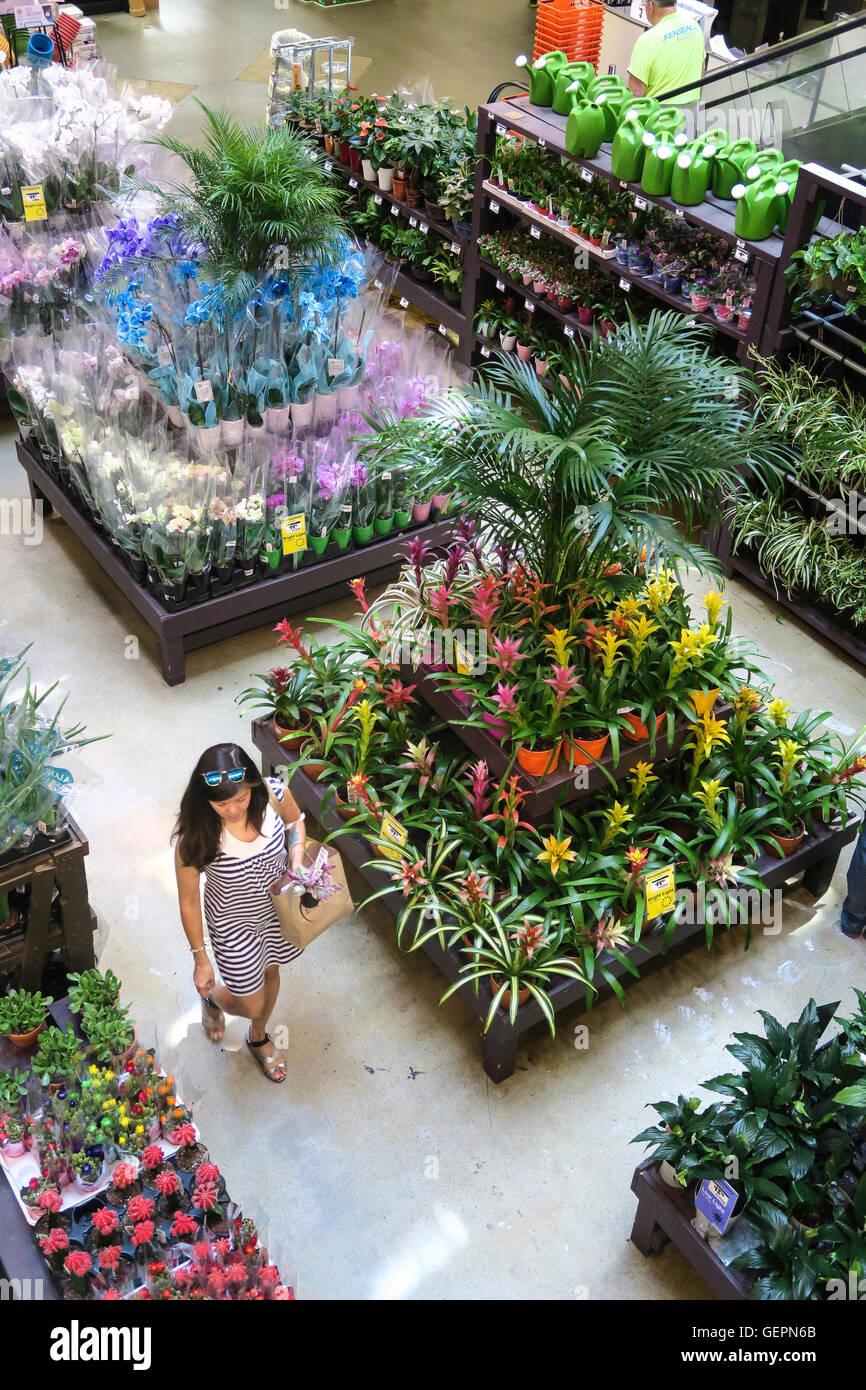 Merveilleux Home Depot Store Garden Center Display, NYC