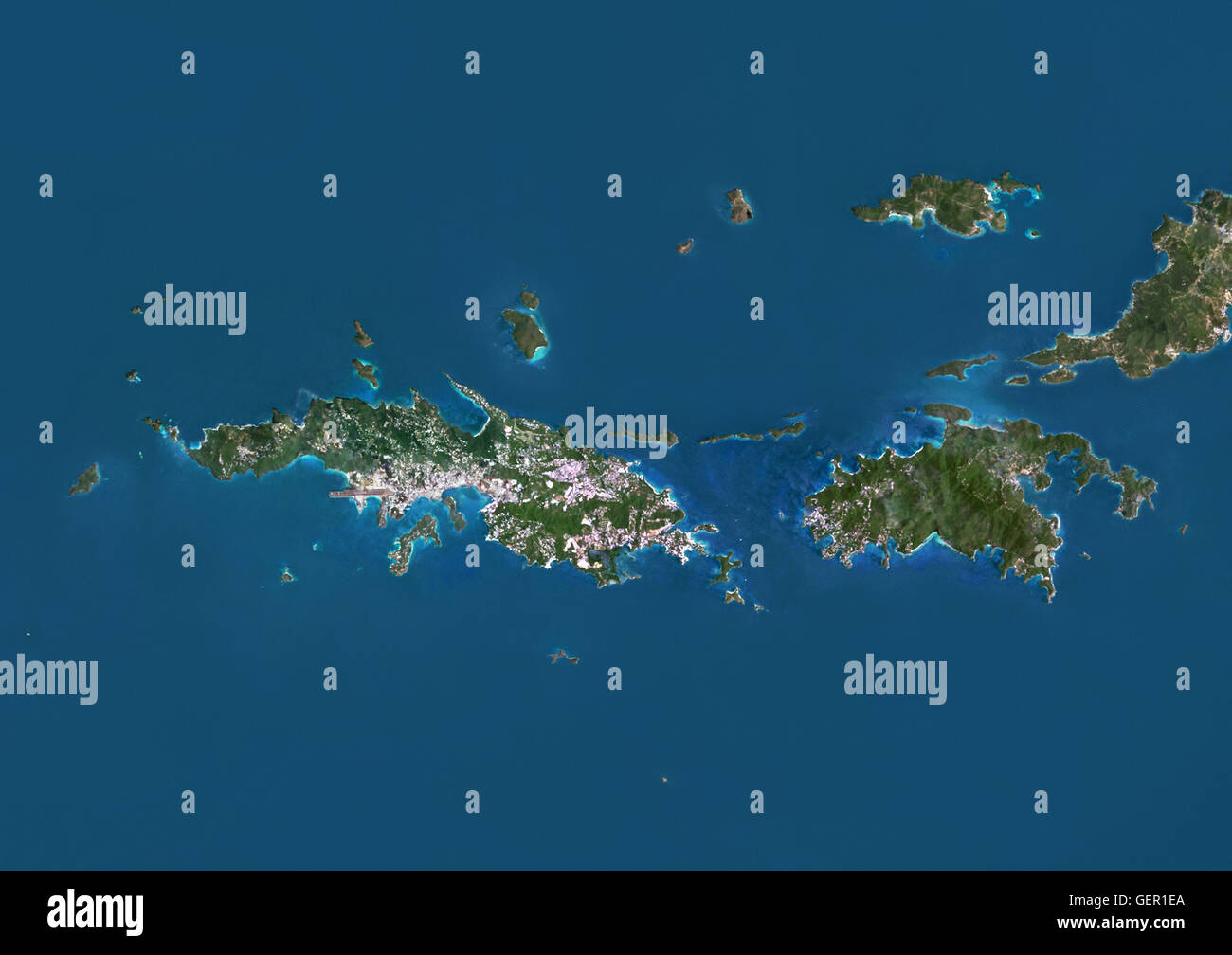 Saint John Island Map Stock Photos & Saint John Island Map ...