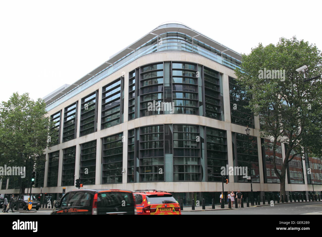 Department for Communities and Local Government (DCLG), Marsham Street, London, England, Great Britain, United Kingdom - Stock Image