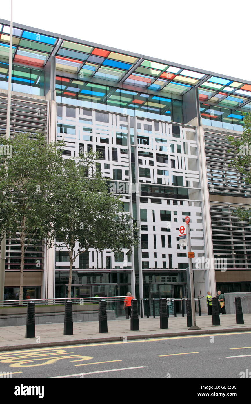 Home Office and Department for Communities and Local Government (DCLG), Marsham Street, London, England, Great Britain, - Stock Image