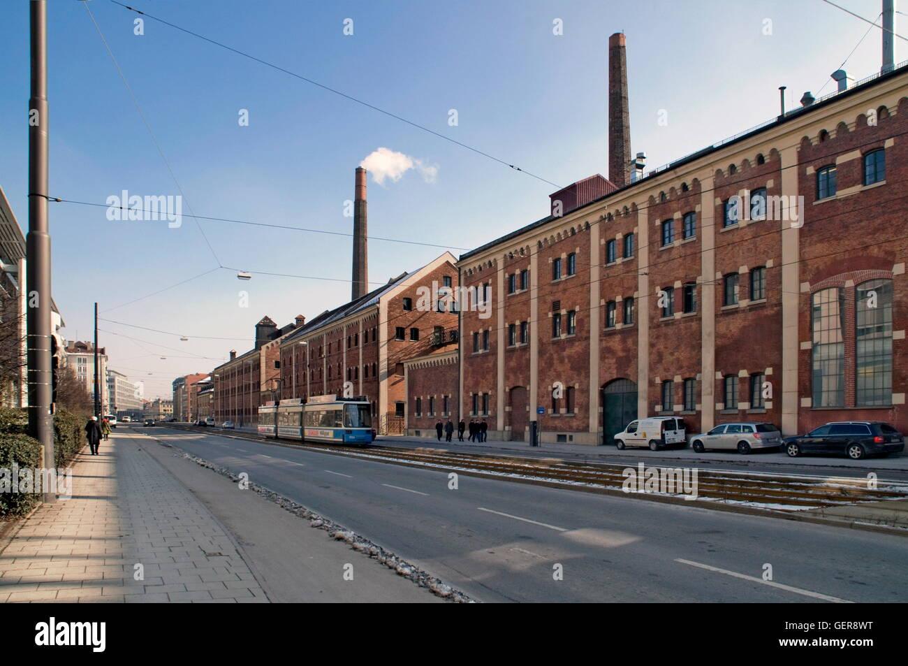 geography / travel, Germany, Bavaria, Munich, Augustiner brewery, Landsberger Strasse, Schwanthalerhoehe, - Stock Image