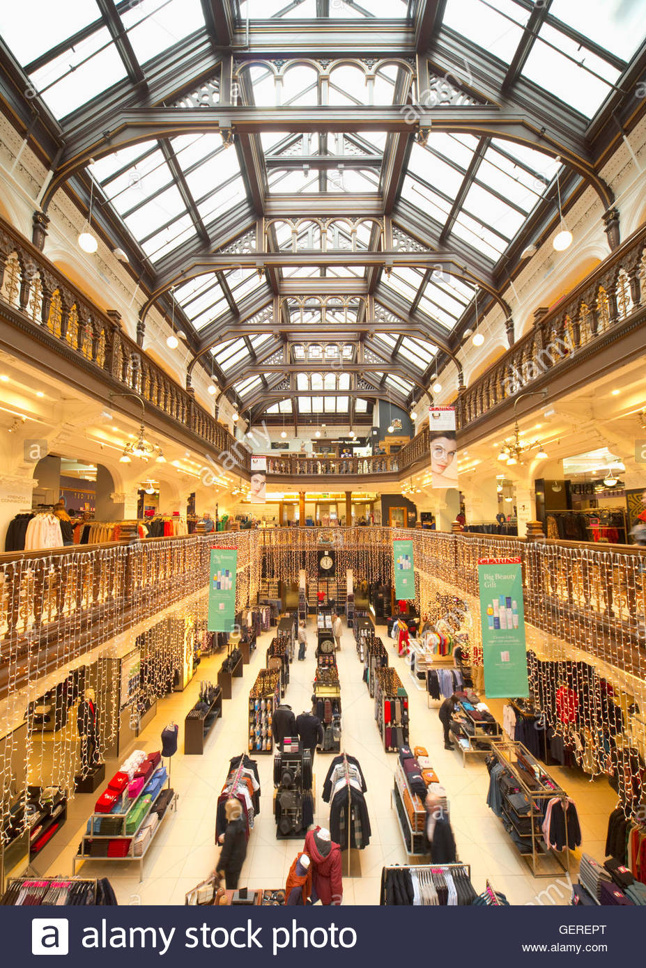 The interior of Jenners Department Store in the city centre of Edinburgh, Scotland. - Stock Image