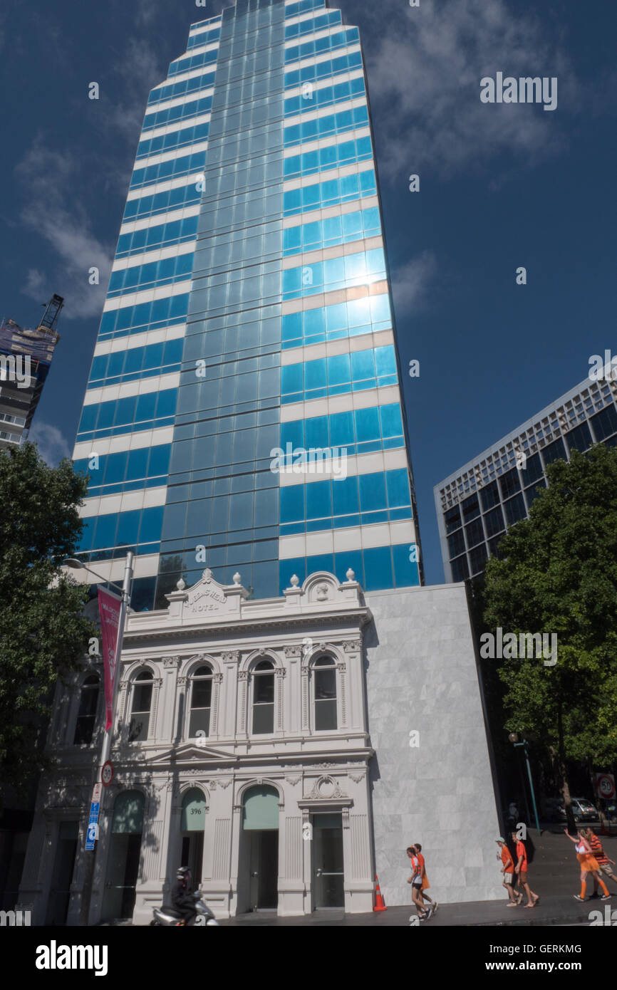 Queens Head Hotel, Queen Street, Auckland, North Island, New Zealand. - Stock Image