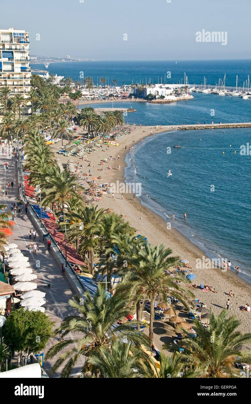 geography / travel, Spain, province of Malaga, Marbella, promenade, - Stock Image