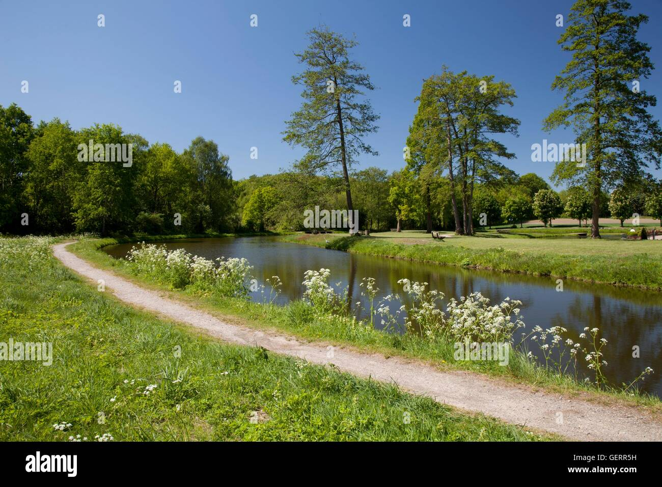 geography / travel, Germany, North Rhine-Westphalia, Munsterland, Raesfeld, natural preserve 'Hohe Mark', - Stock Image