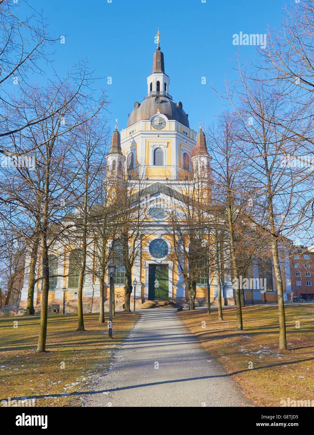 Katarina Kyrka (Church of Catherine) Sodermalm Stockholm Sweden Scandinavia Stock Photo