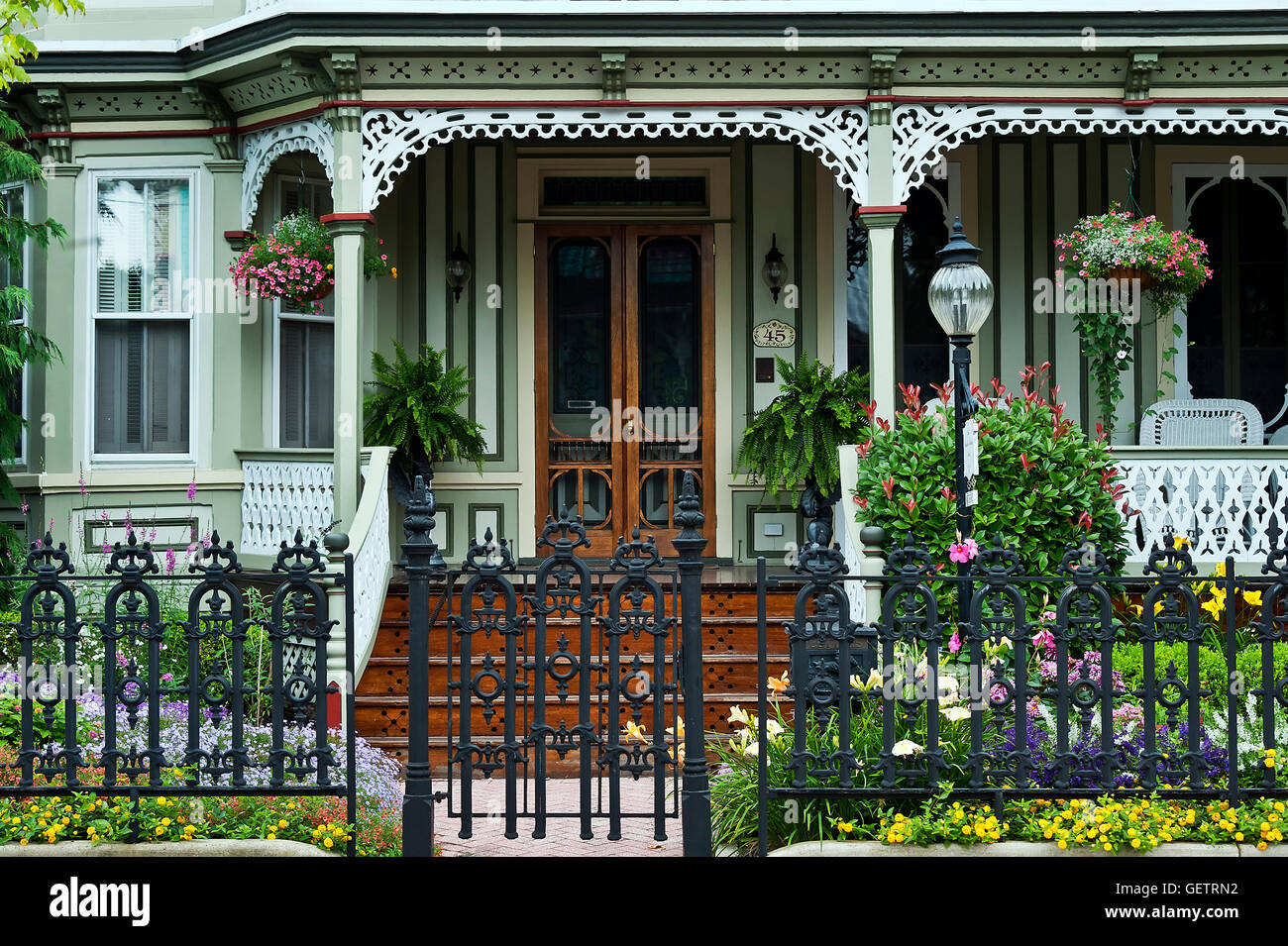 Victorian home. - Stock Image