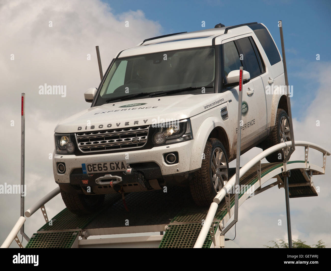 2016 Goodwood Festival of Speed UK - Land Rover Experience Stock Photo