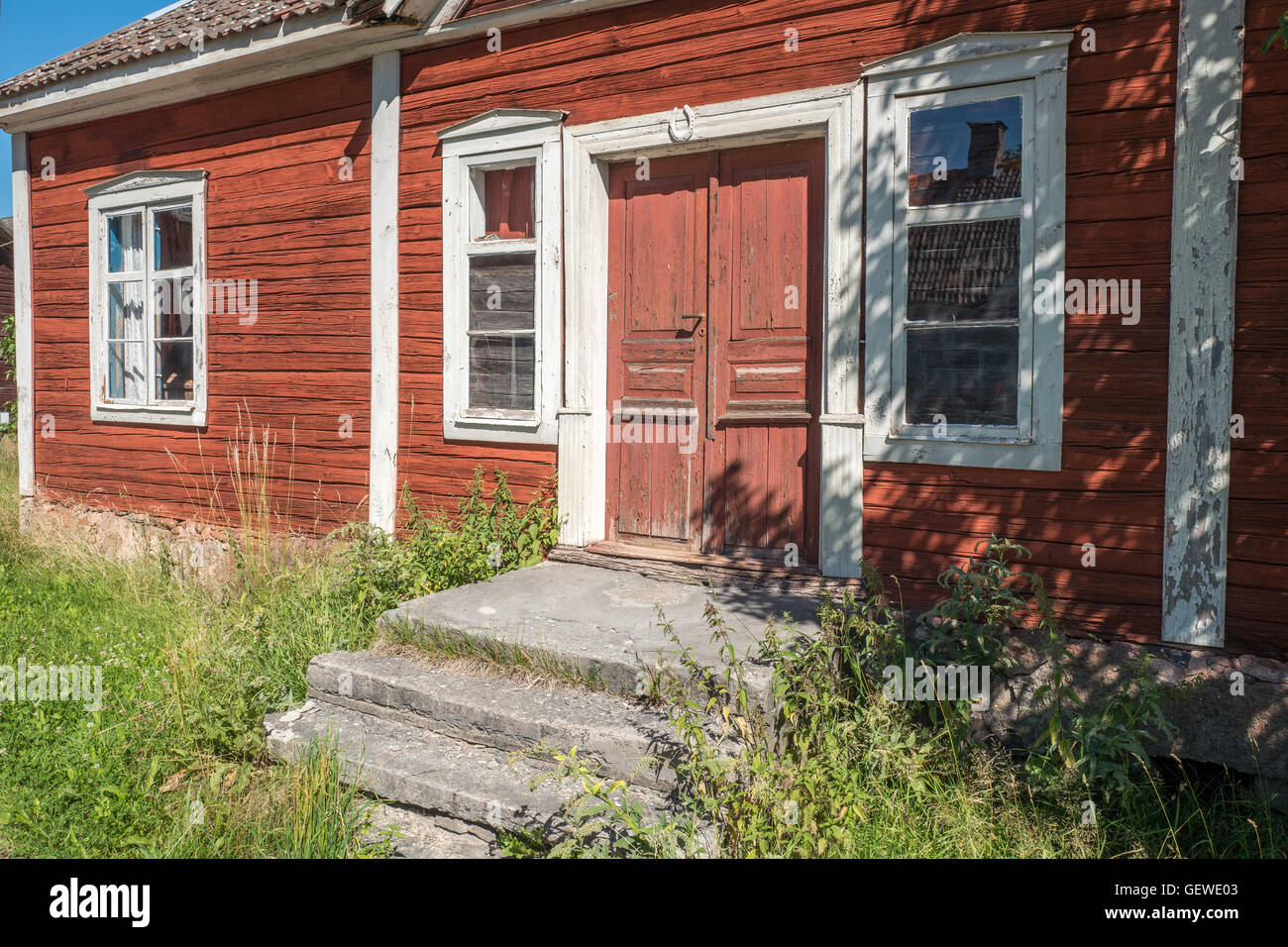 Regna – a partly deserted village in the countryside of Ostergotland, Sweden - Stock Image