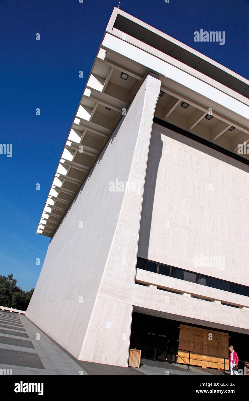 LBJ Library and Museum in Austin. Stock Photo