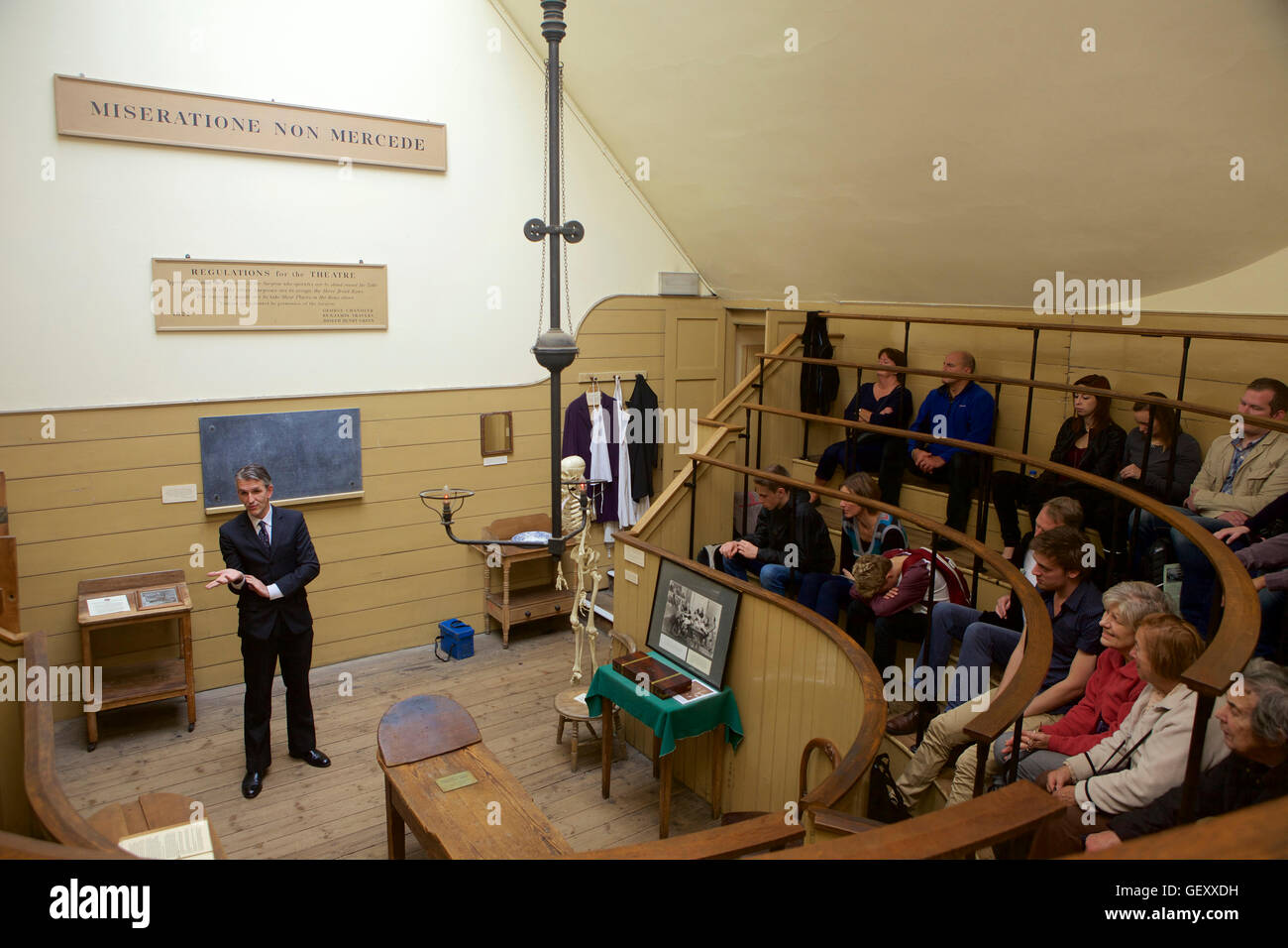 The Old Operating Theatre Museum. - Stock Image