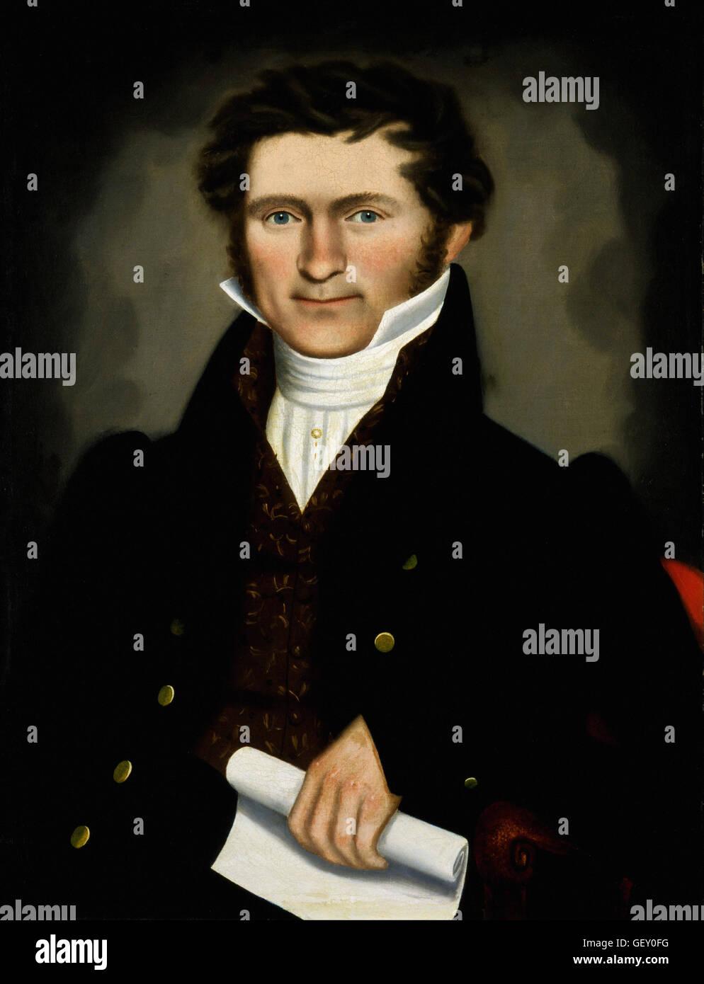 Erastus Salisbury Field - Gentleman of Squire Williams House - Stock Image