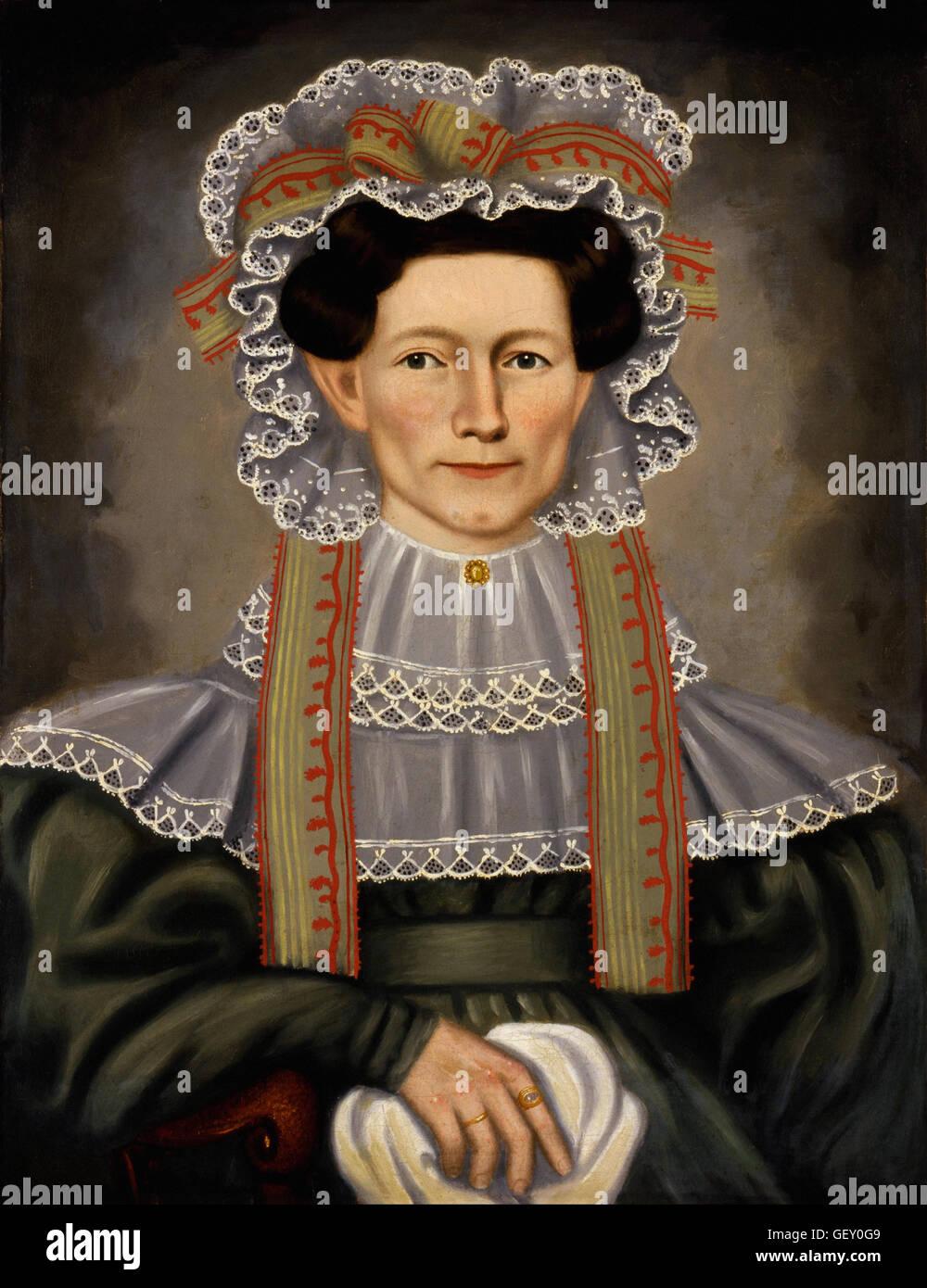 Erastus Salisbury Field - Lady of Squire Williams House - Stock Image