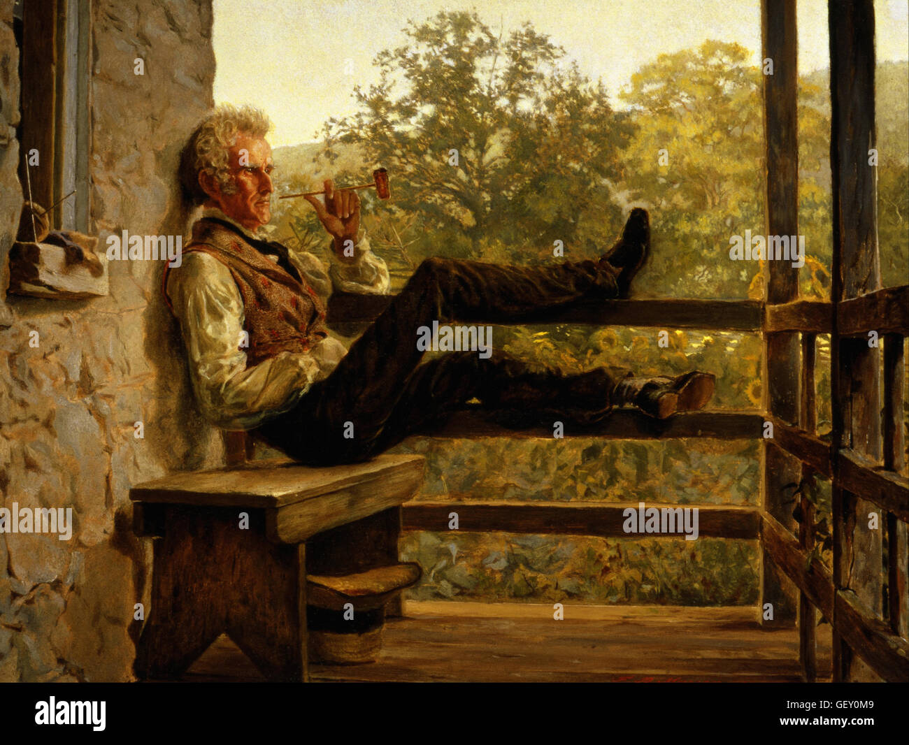 Frank Blackwell Mayer - Independence (Squire Jack Porter) - Stock Image