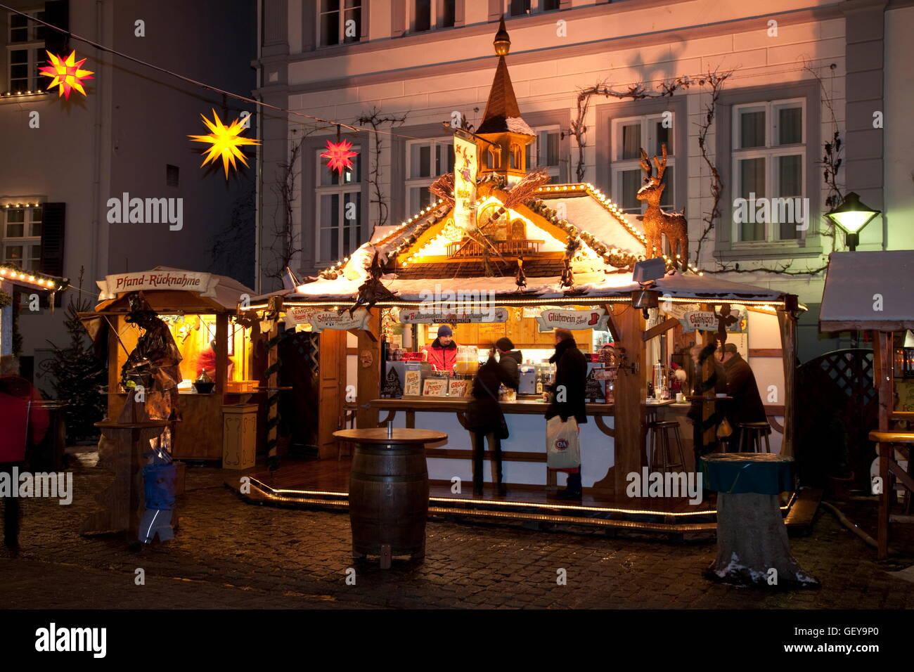Christmas market, Soest - Stock Image