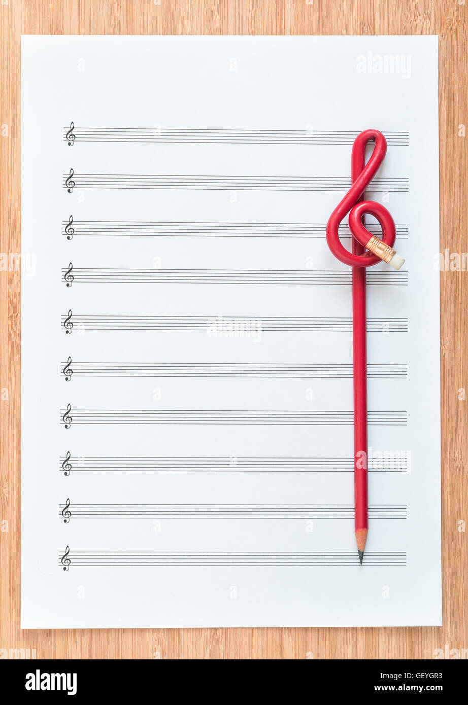 Treble Clef Notes Stock Photos Amp Treble Clef Notes Stock