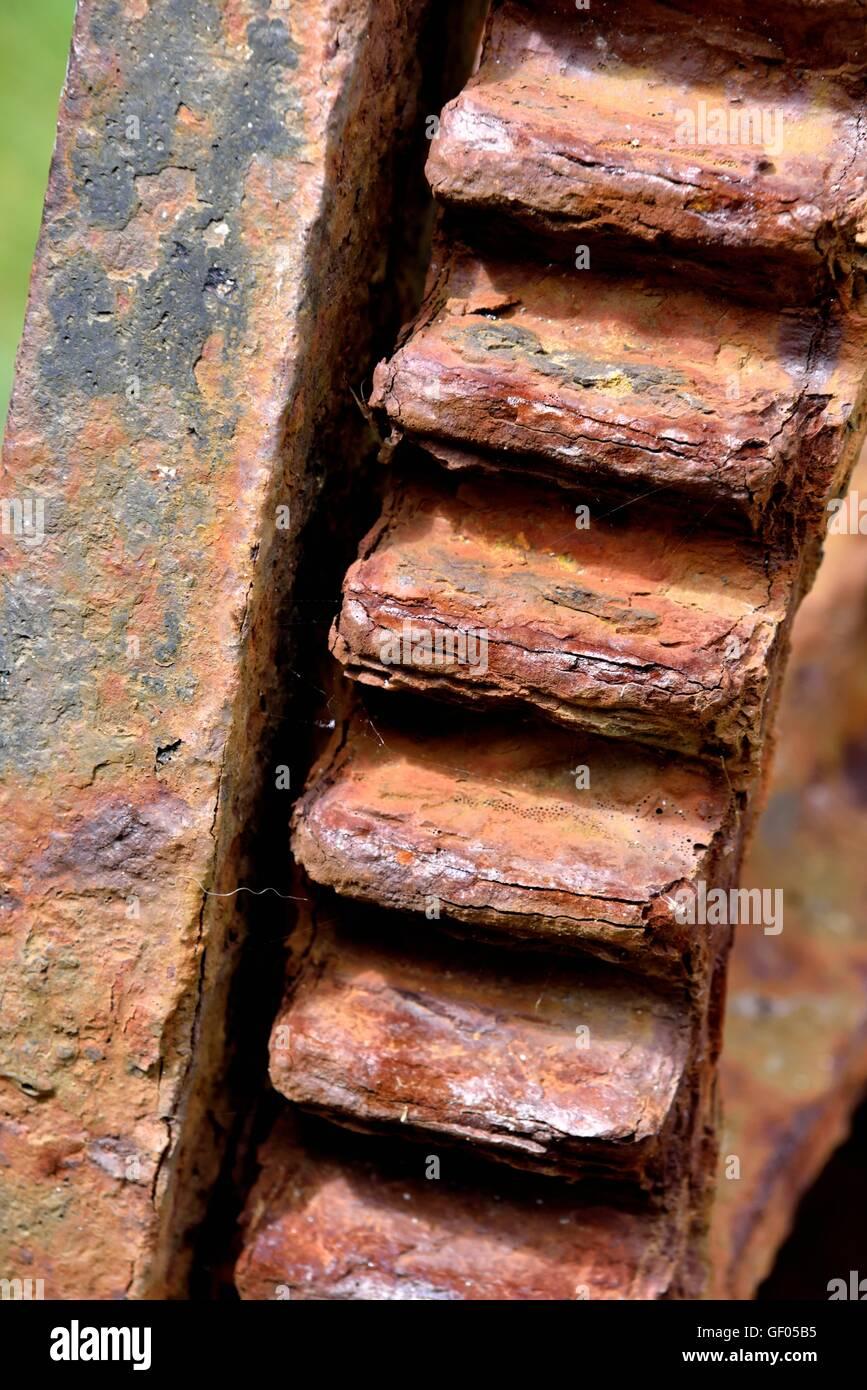 rusty cog - Stock Image