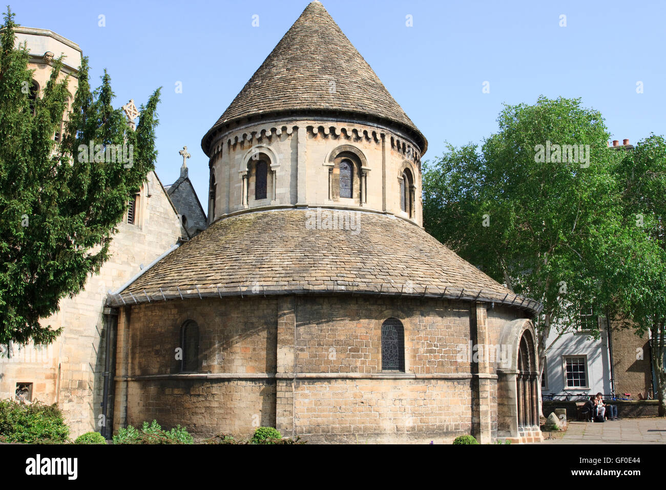 The Church of the Holy Sepulchre, Cambridge, England. - Stock Image