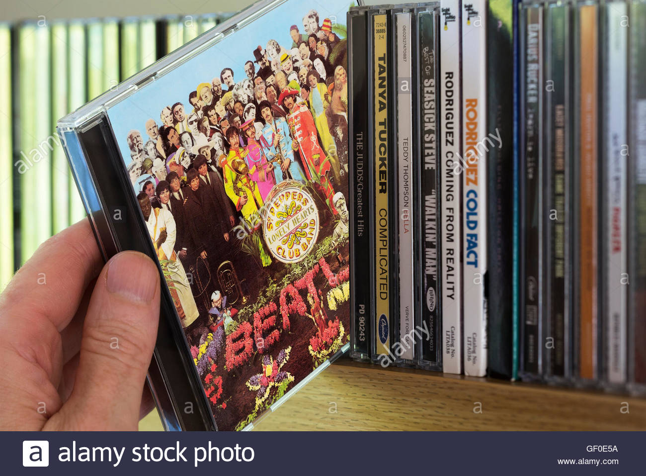 Sergeant Peppers Lonely Hearts Club Band Stock Photos