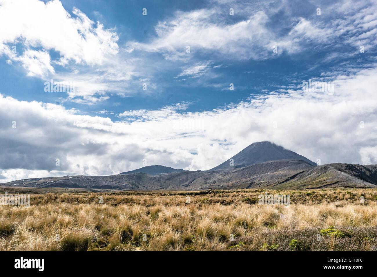 Tongariro National Park, New Zealand - Stock Image