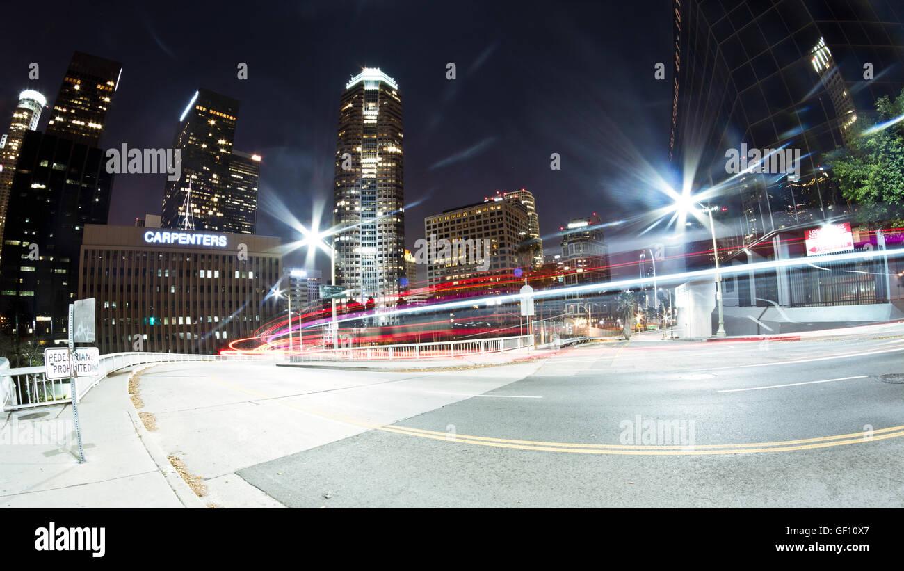 Downtown LA - Stock Image