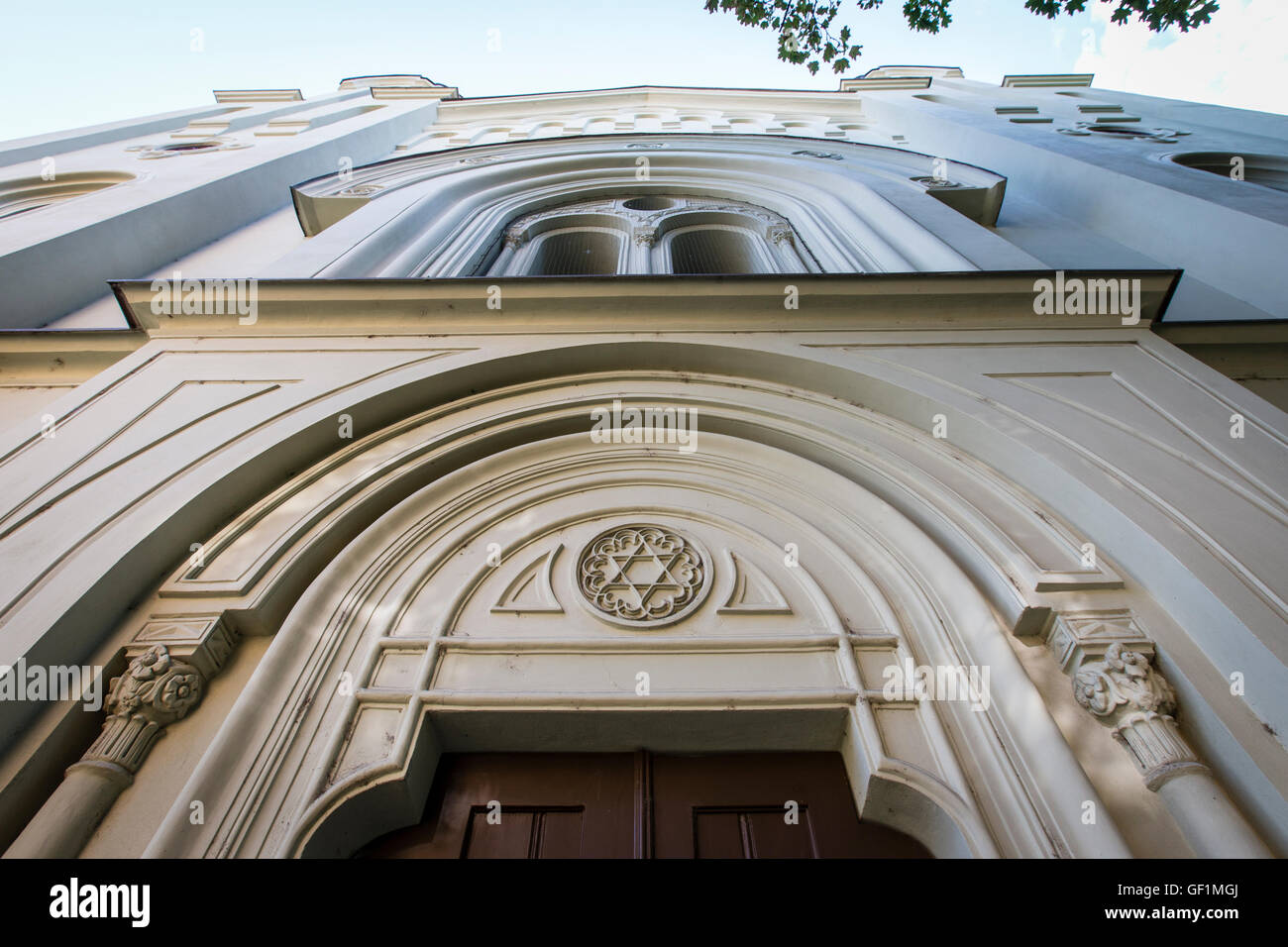 synagogue, Krnov, judaism, religion, Jews Stock Photo