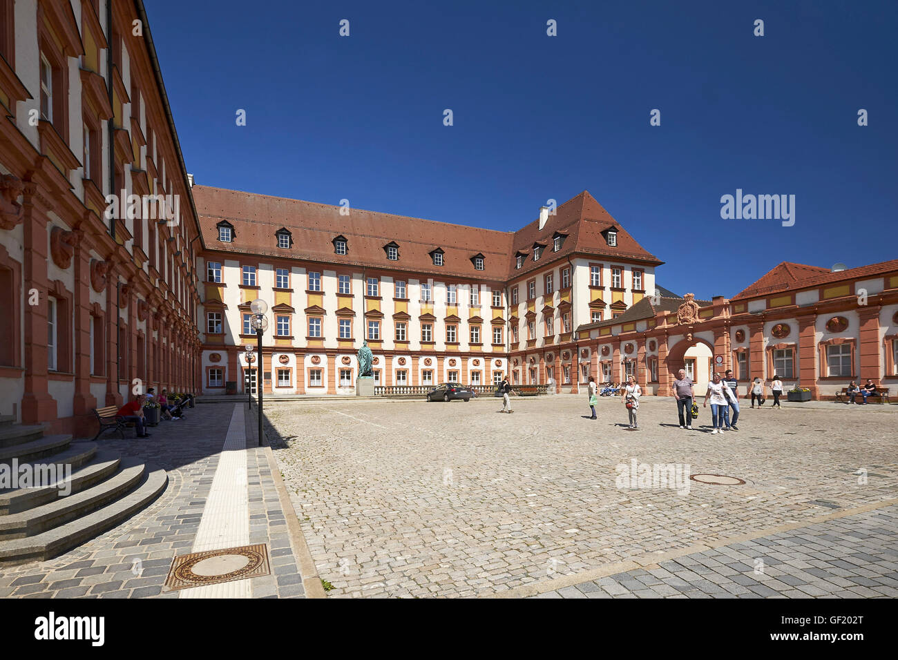 Old Palace in Bayreuth, Germany - Stock Image