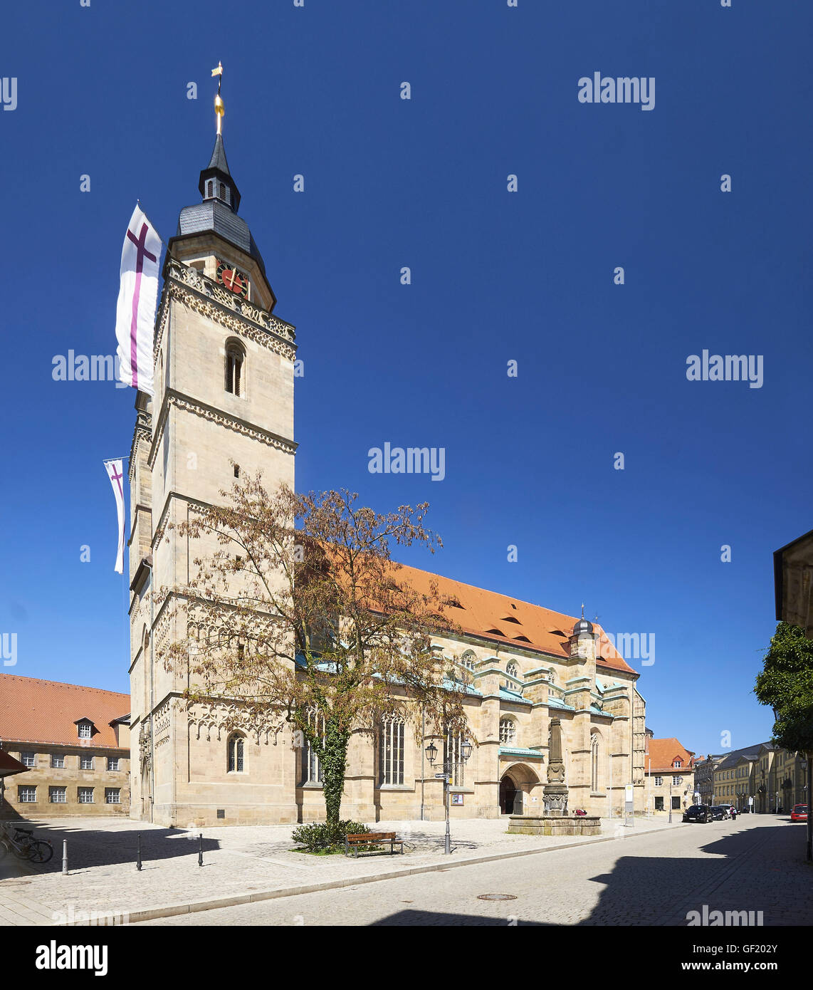Church of the Holy Spirit, Bayreuth, Germany - Stock Image