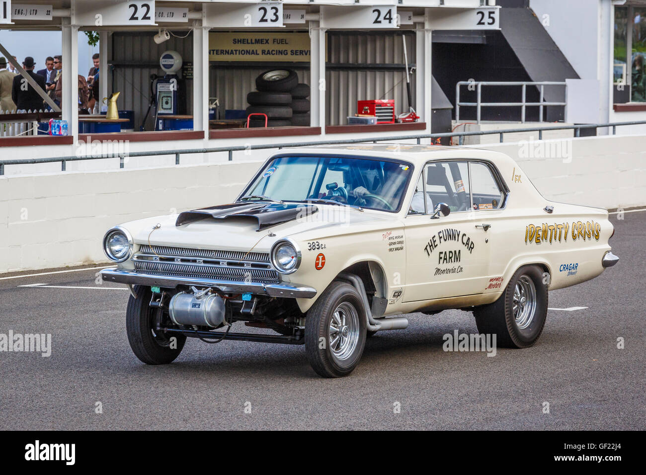 Dodge Dart Stock Photos Images Alamy 1964 Gts Identity Crisis 383cu Inch Gasser On Track At The 2015 Goodwood