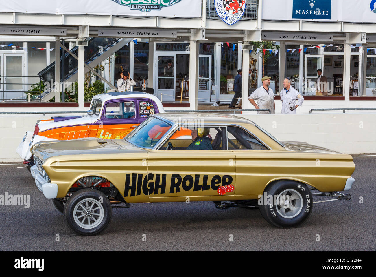 Gasser Dragster Stock Photos & Gasser Dragster Stock Images