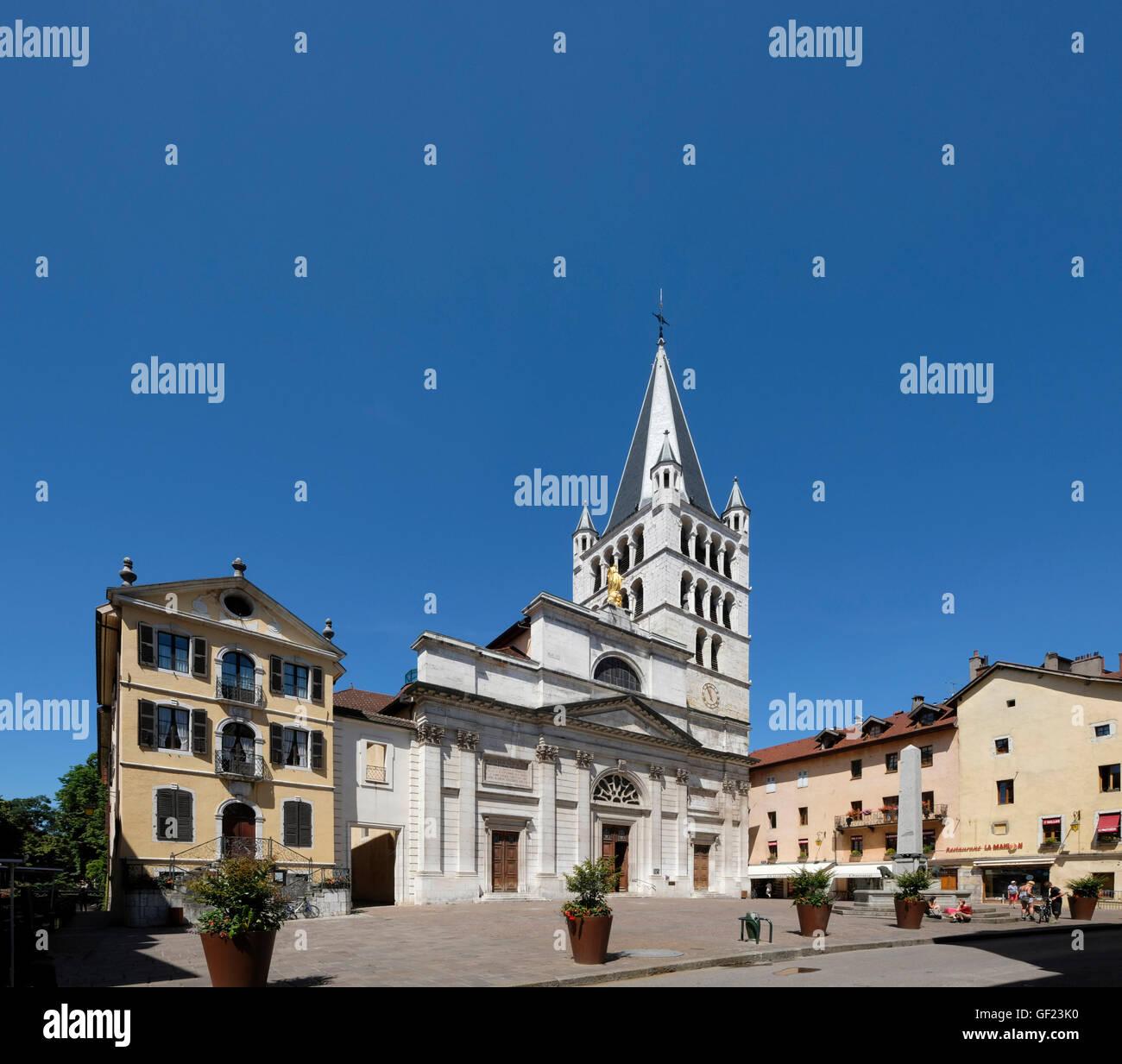 Eglise Notre Dame de Liesse. Annecy, Haute-Savoie, France. Stock Photo