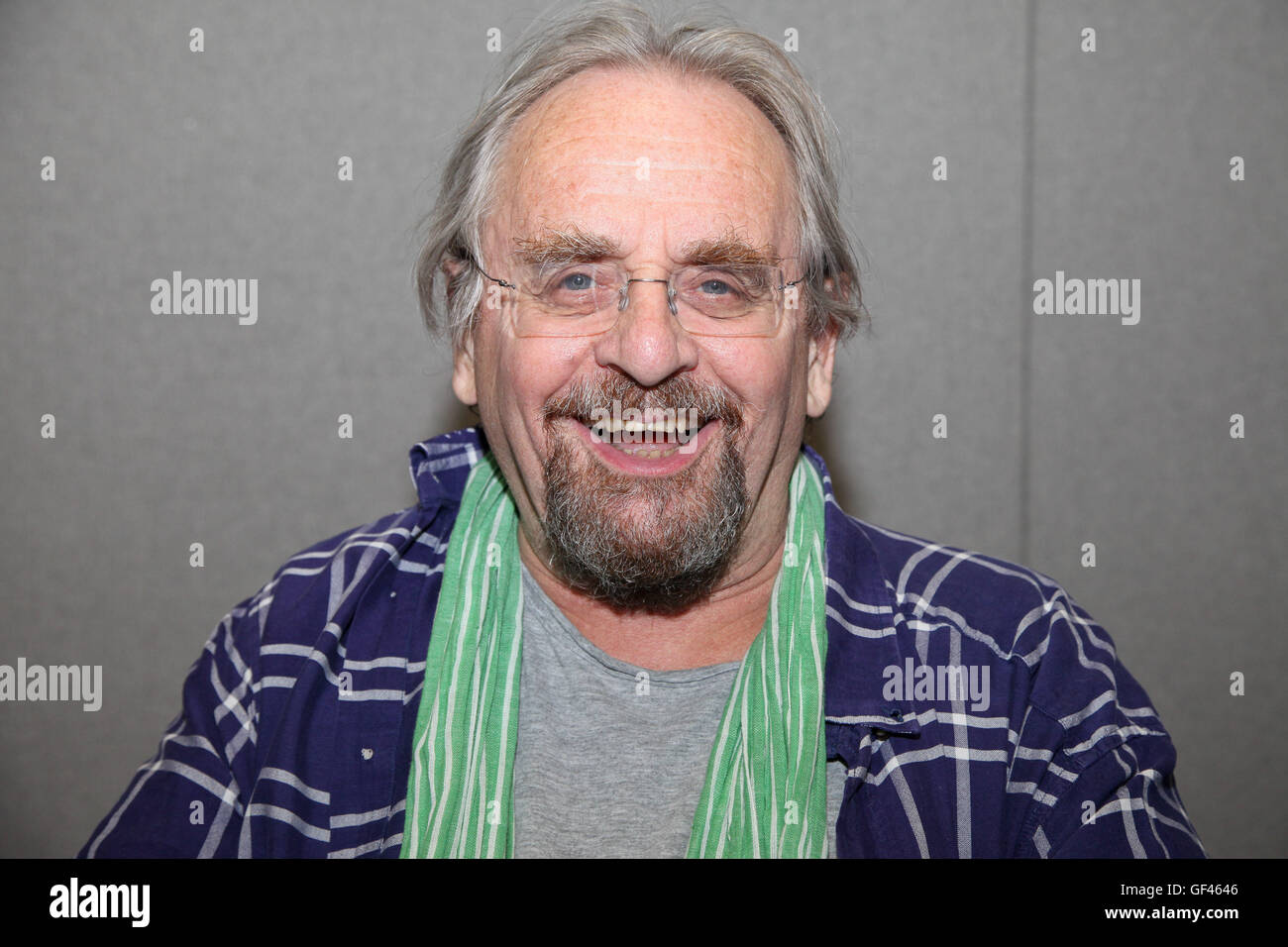 Olympia, London, UK. 29th July, 2016. Sylvester McCoy. London Film & Comic Con takes place in Olympia from 29 - Stock Image