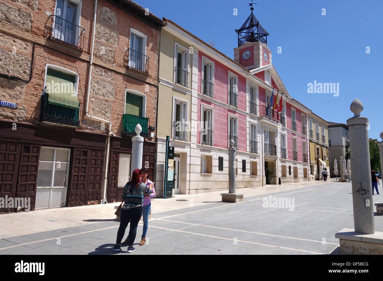 Aranjuez Spain The Servants house or Casa de Empleados - Stock Image