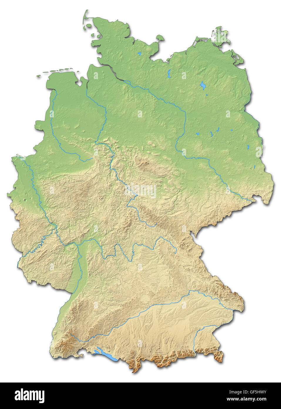 Map Of The World Germany.Germany Map Stock Photos Germany Map Stock Images Alamy