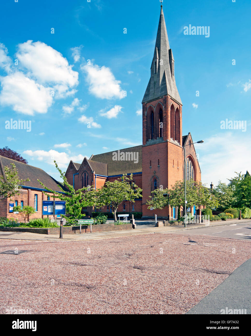 Bromley, Greater London, Trinity Reform Church - Stock Image