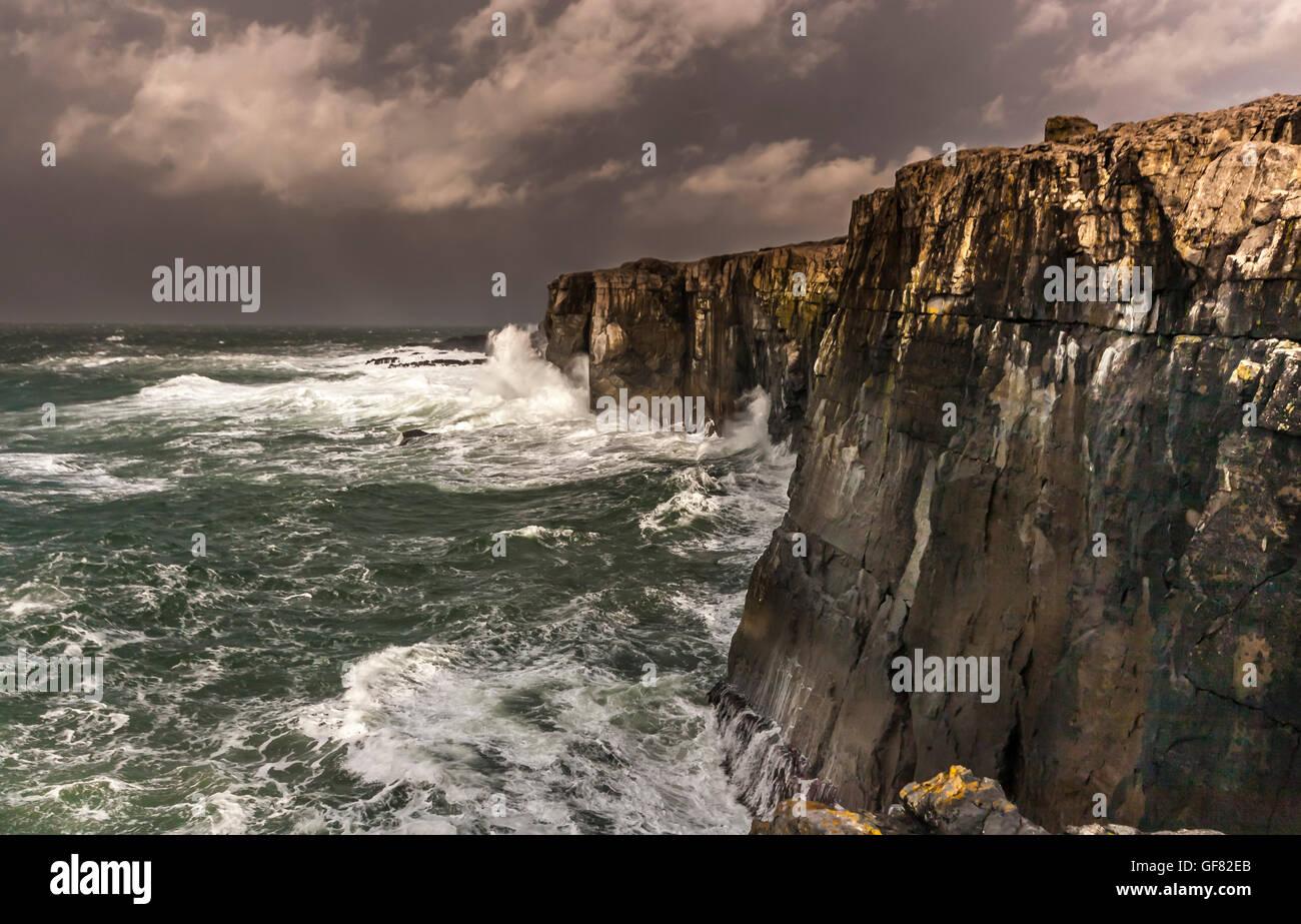 County Clare Ireland - Stock Image
