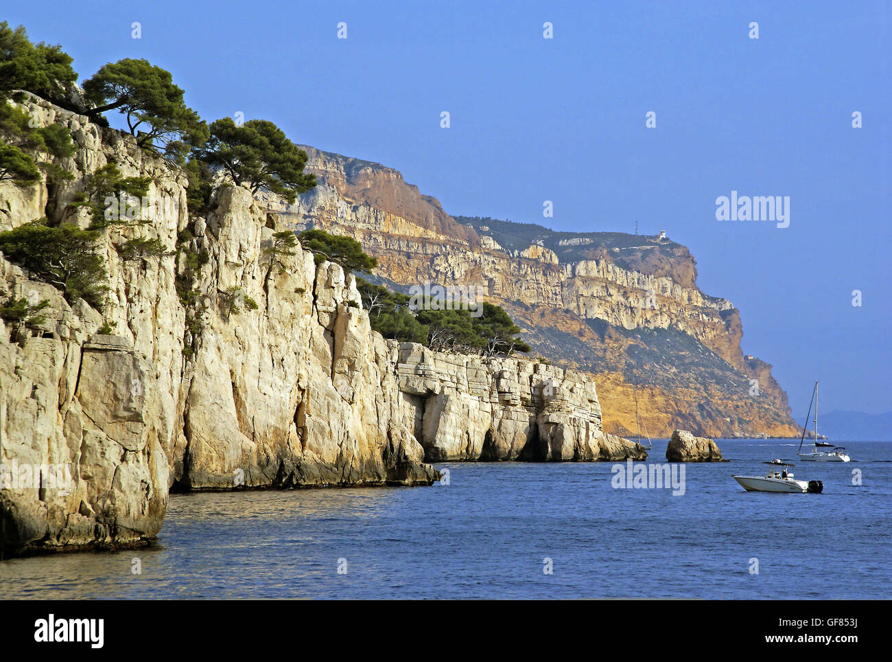 Cap Canaille in Provence - Stock Image