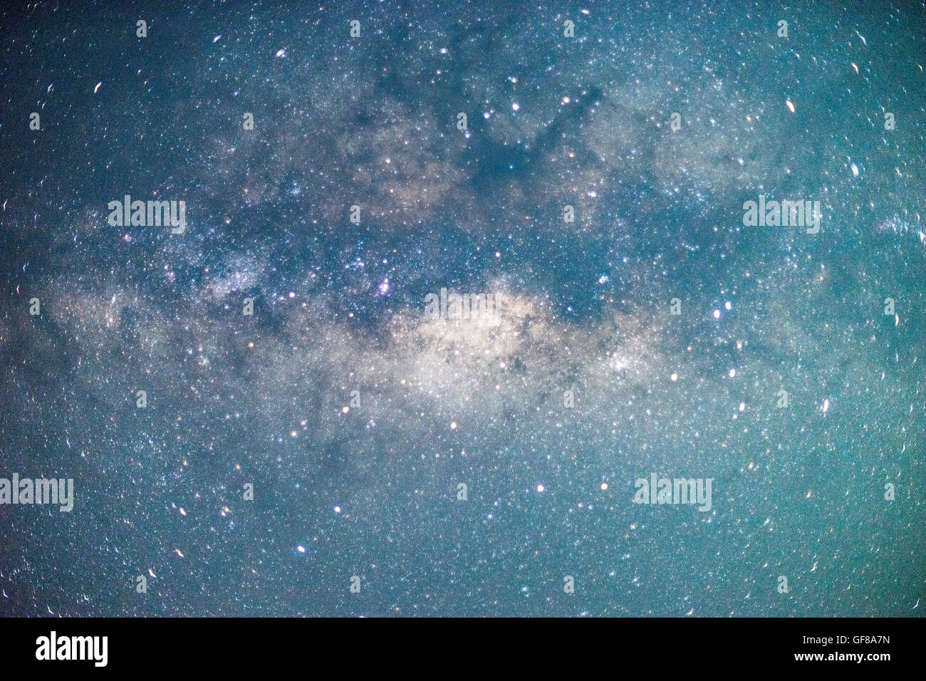 Milky Way Center - Stock Image