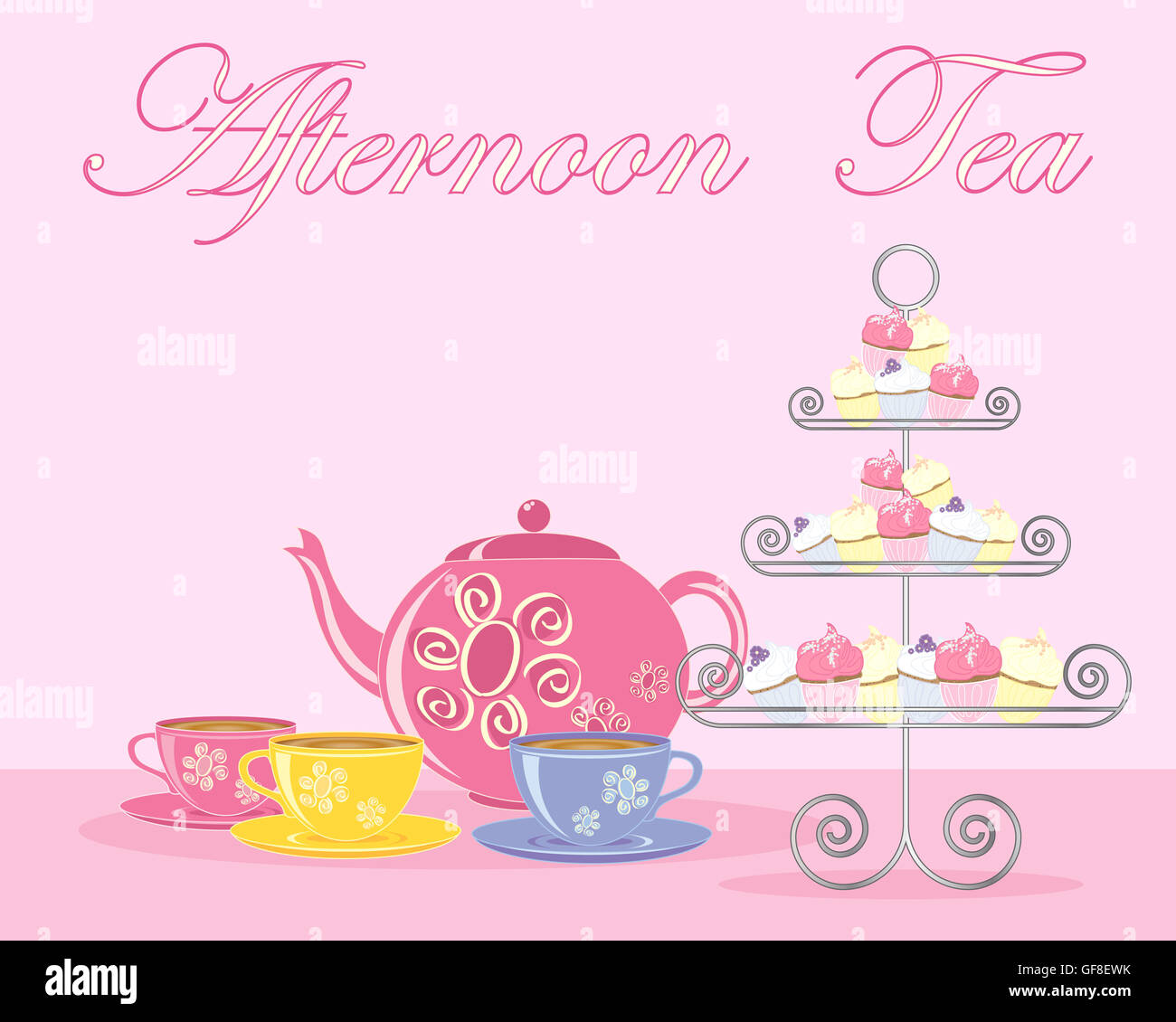 English Tea Cake Stand