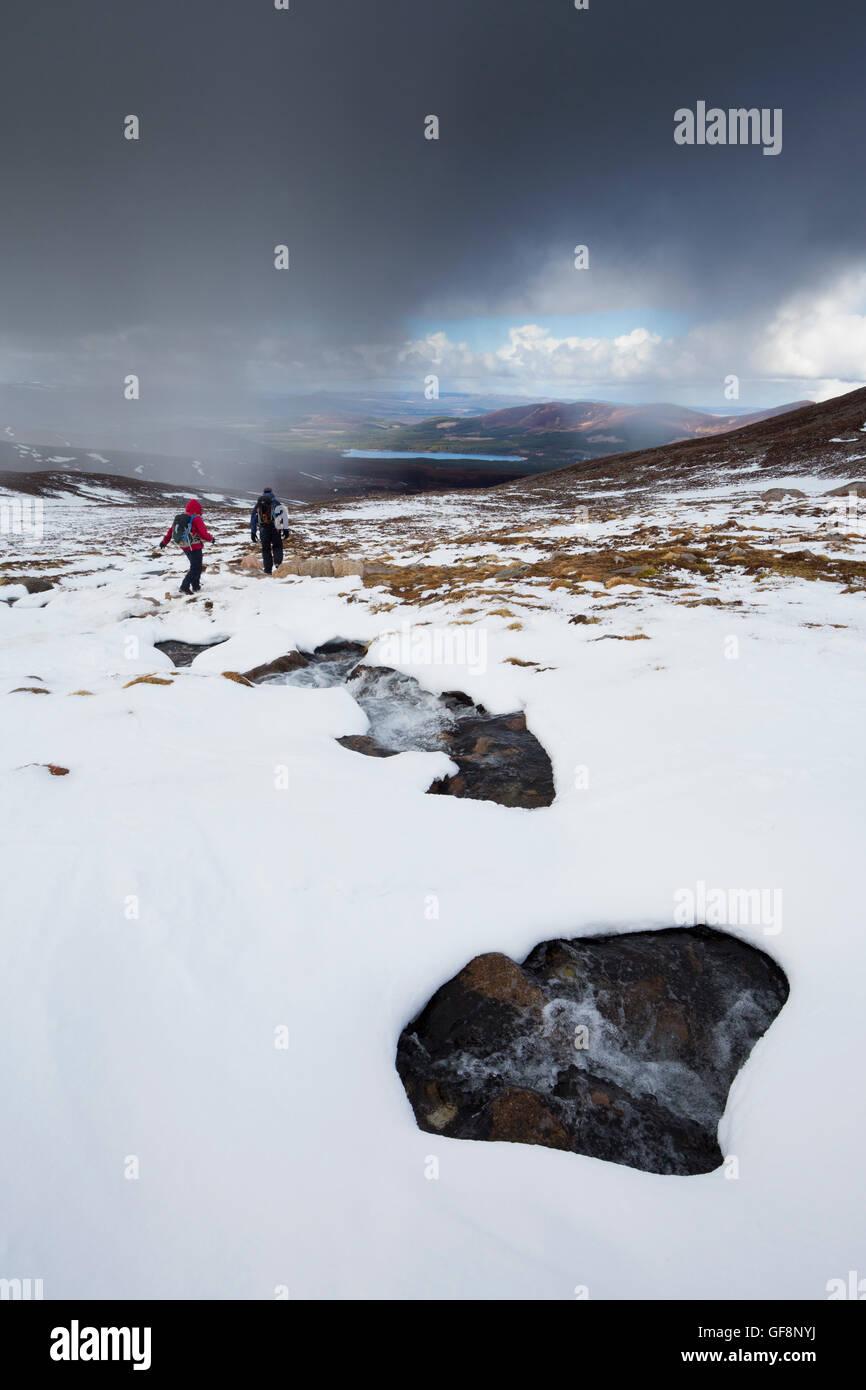 Cairngorm; Mountain; Scotland; UK - Stock Image