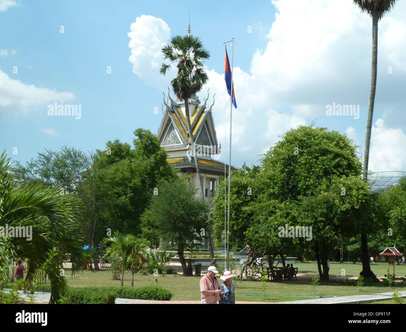 Cambodia, travellers Cambodia, places to visit in Cambodia - Stock Image