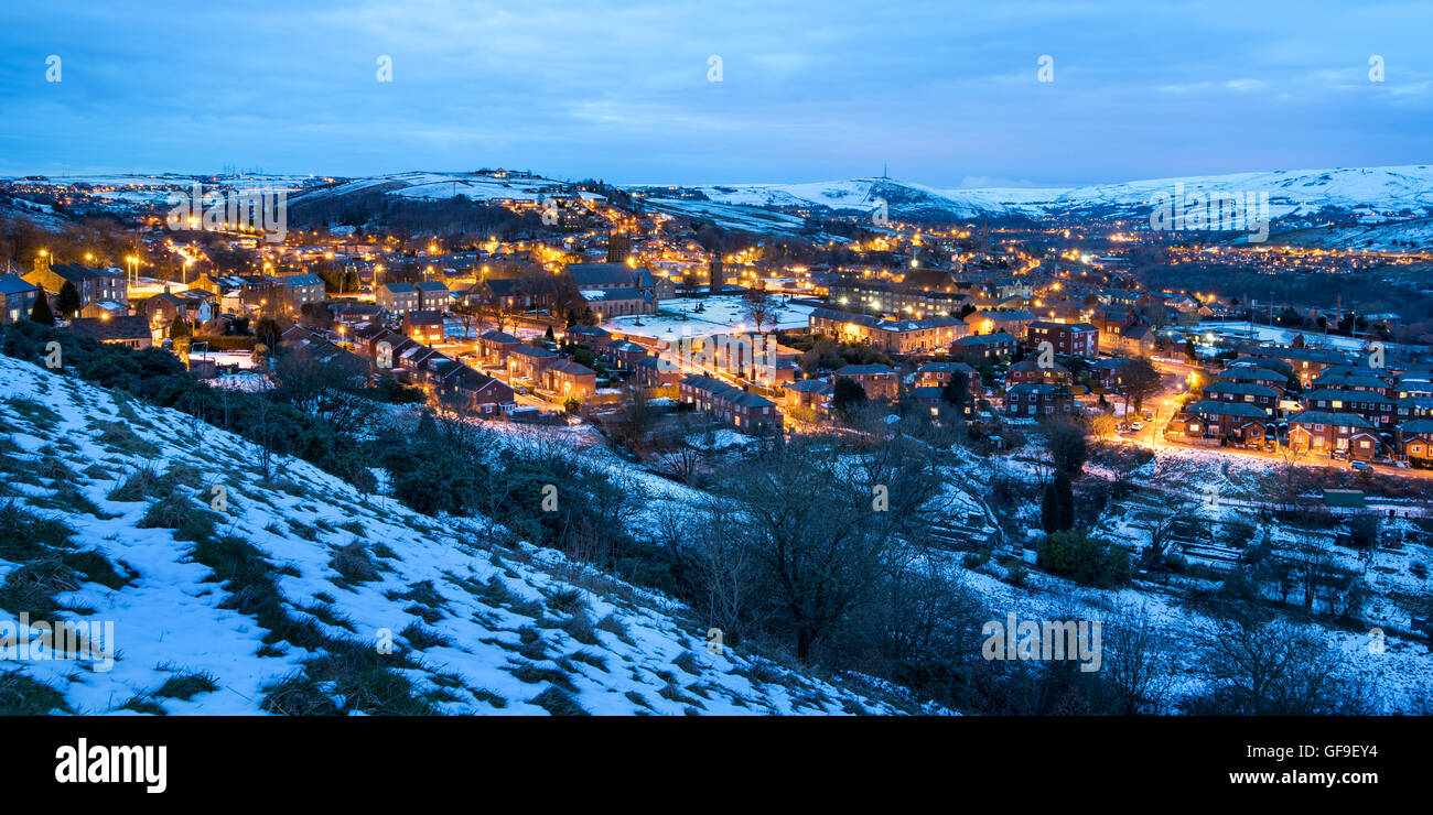 England's beautiful countryside is an idyllic option for a view of a centurys-old village,sleepy seaside town - Stock Image