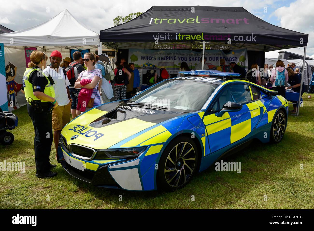 Carfest North Bolesworth Cheshire Uk 30th July 2016 A Bmw I8