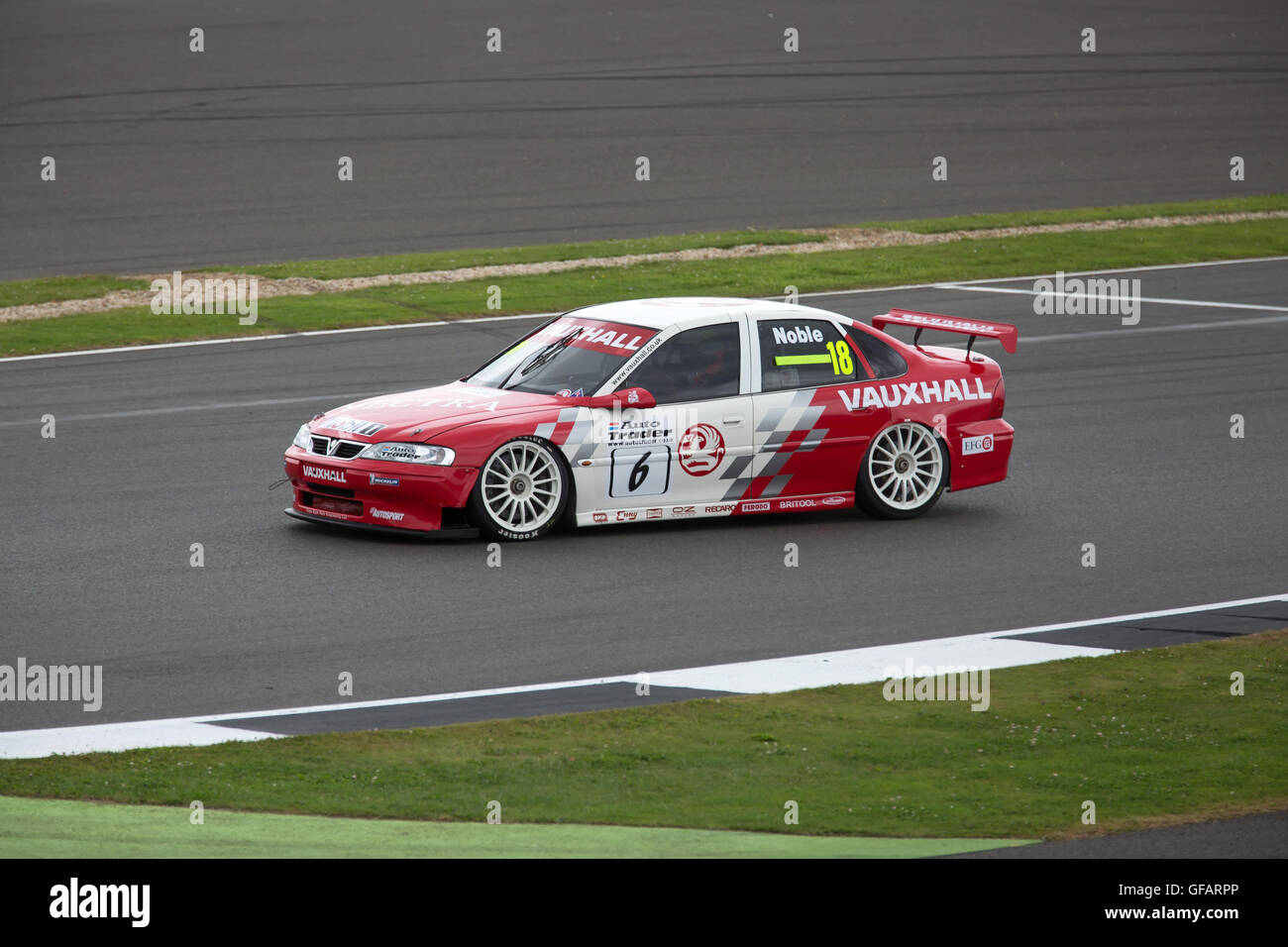 Silverstone,Towcester,UK,30th July 2016,Vauxhall taking part in the Jet Super Touring Car Trophy race which took Stock Photo