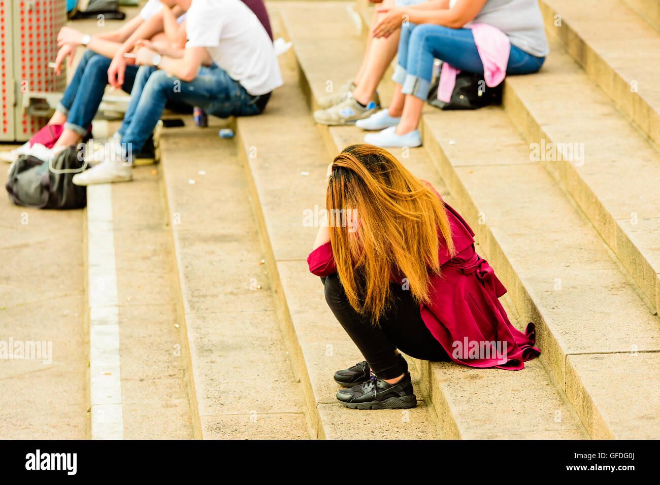 adult lonelys white girl in gothenburg
